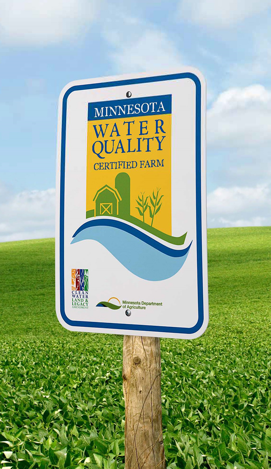 Minnesota Water Quality sign