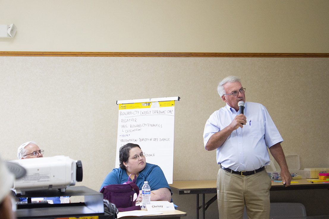 Redwood County Energy Dialogue experts