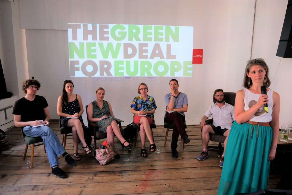 Green New Deal Europe meeting