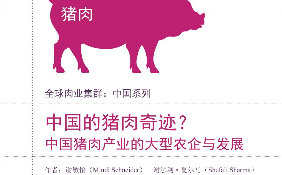 China meat report on pork