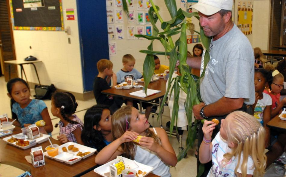 Farm to School Corn