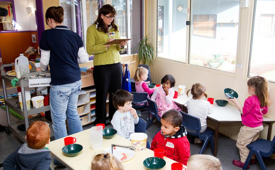 Growing Farm to Childcare