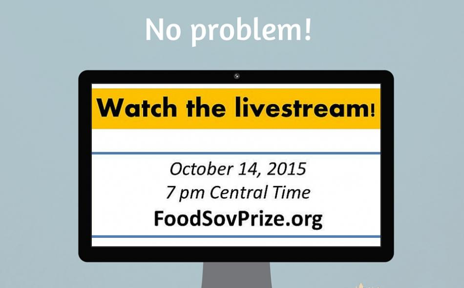 Livestreaming of the 2015 U.S. Food Sovereignty Prize