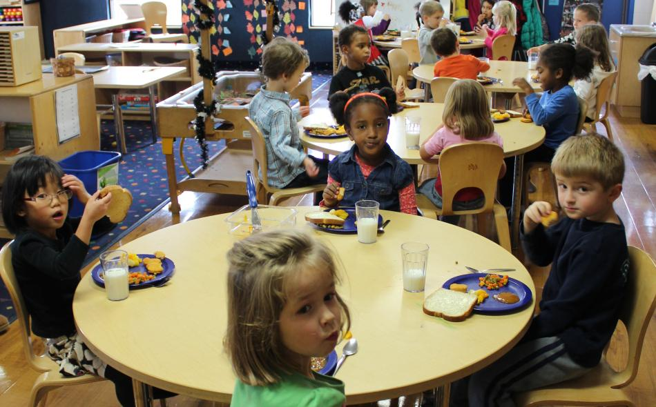 Childcare: Fertile ground for healthy young eaters