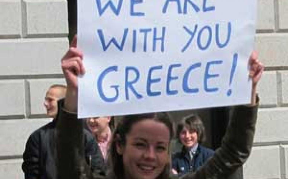 Greece: No to austerity, yes to democracy