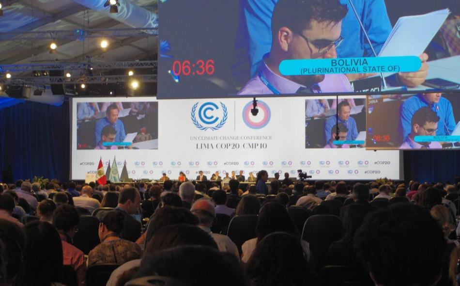 Will the global climate talks address the challenges for agriculture?
