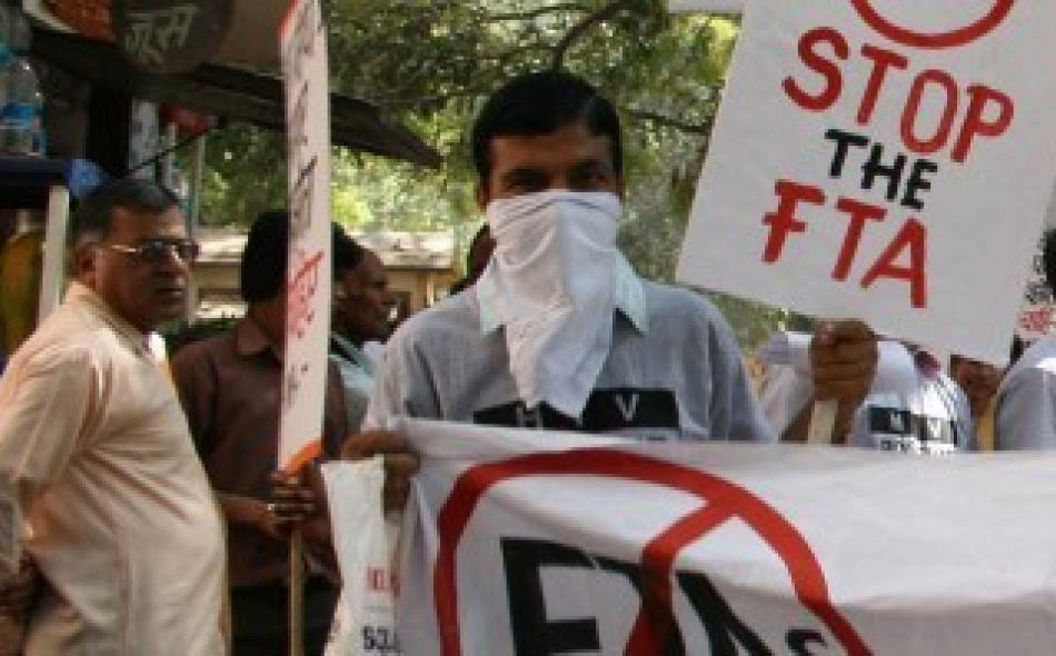 EU-India Free Trade Agreement: 'Don't trade away our lives' say activists