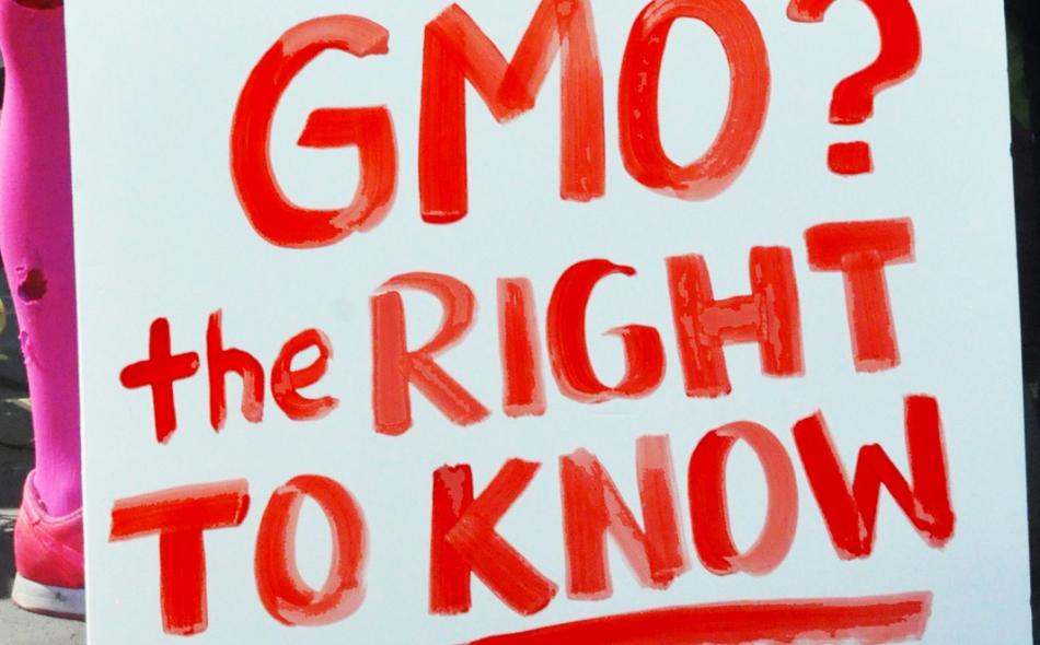 Stop the DARK Act and label food containing GMOs!