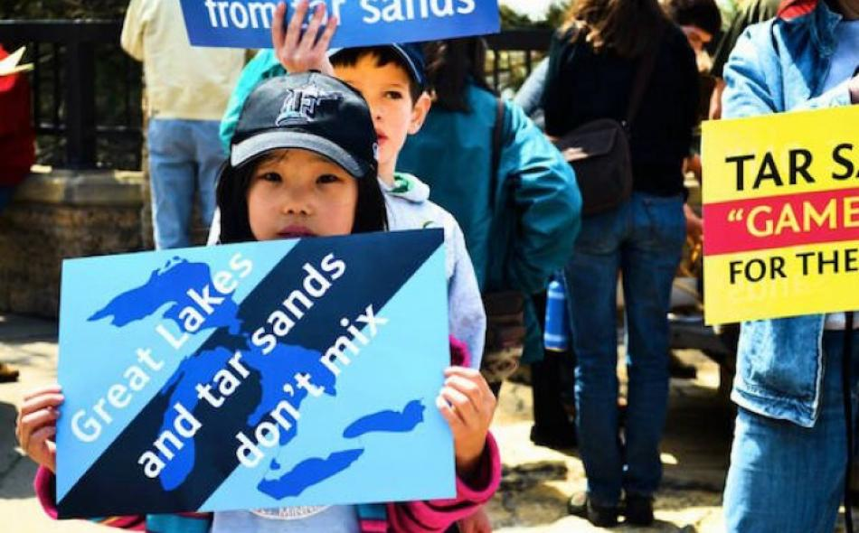 Rally against the Tar Sands and Free Trade