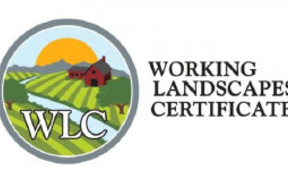 Working Landscapes Certificates 2011 Producer Responsibilities and Required Practices