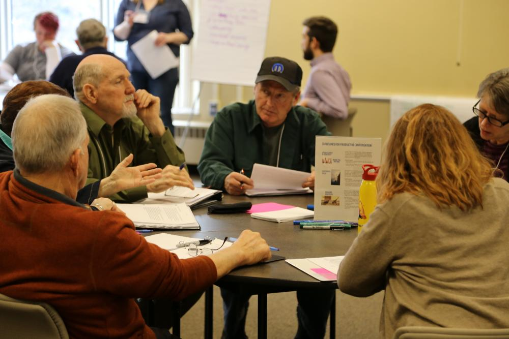 Winona County Dialogue