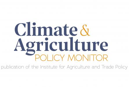 Climate and Agriculture Policy Monitor