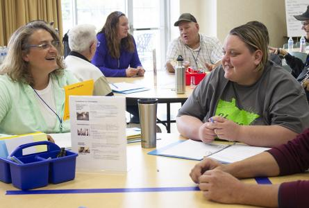 Redwood County Energy Dialogue participants