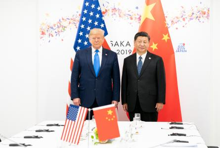 President Xi Jinping and Trump
